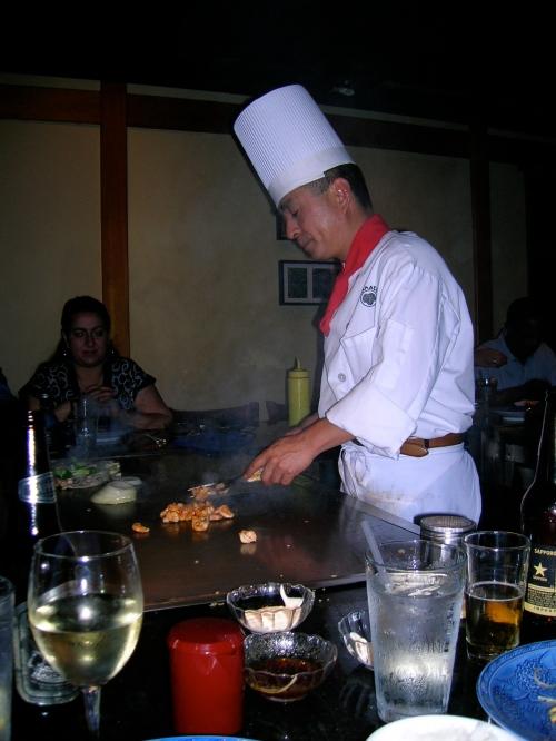 Hibatchi Chef